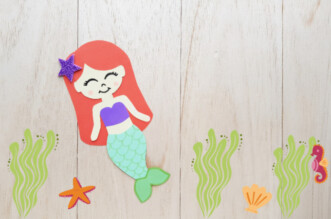 Ariel Paper Doll feature