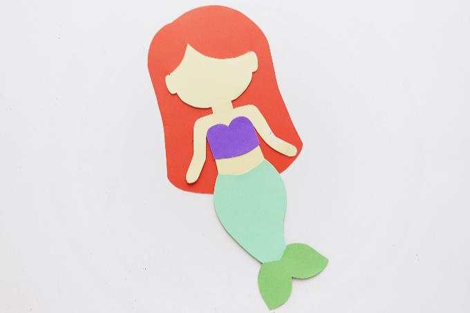 Ariel paper craft body