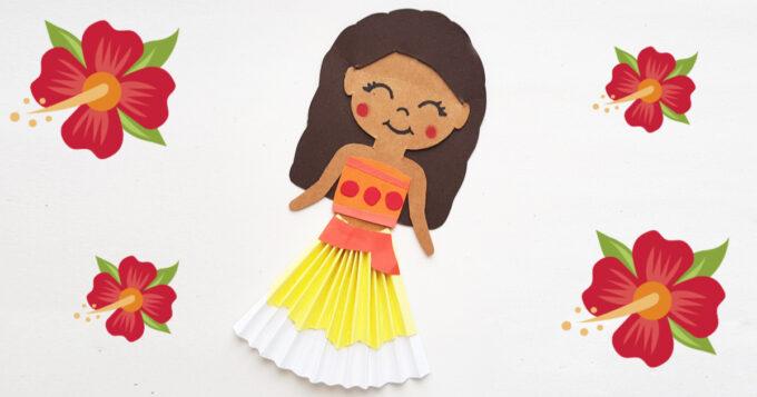 Moana paper doll facebook