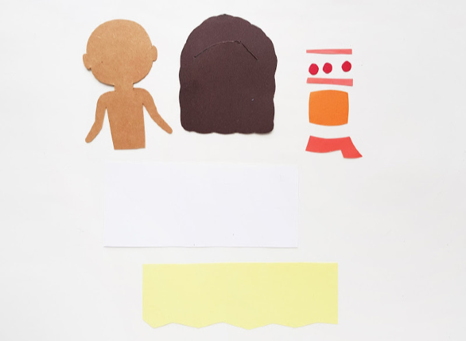 Moana pieces for paper craft