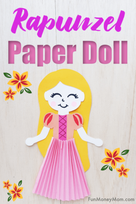 Rapunzel Paper Doll
