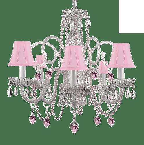 Chandelier for princess room