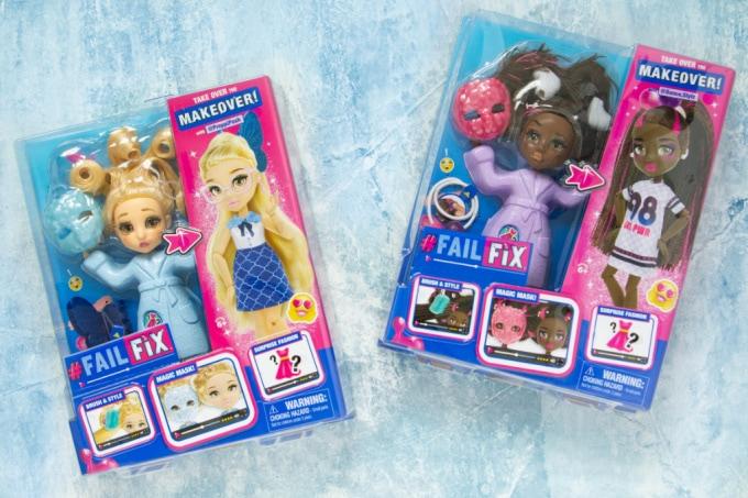 FailFix Dolls in boxes