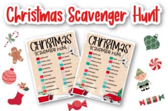 Christmas Scavenger Hunt feature