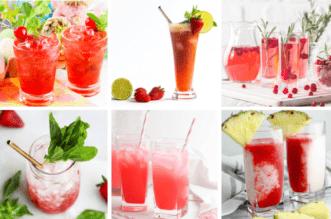 Valentine's Day Mocktails