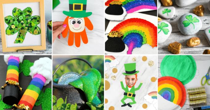 St. Patrick's Day Crafts FB