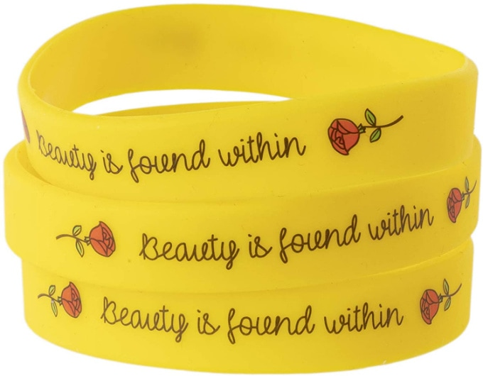 Beauty And The Beast wristbands