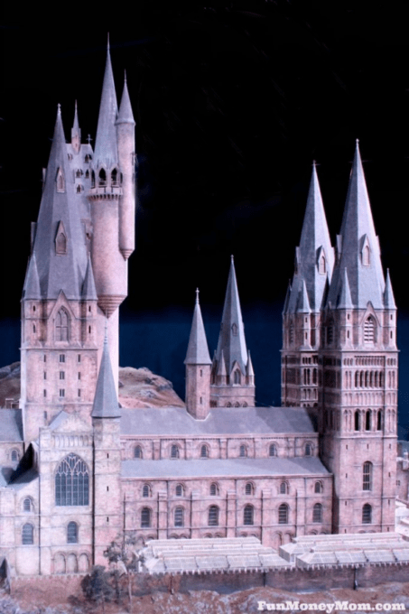 Replica of Hogwarts Castle
