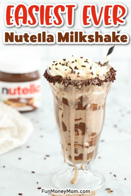 Nutella Milkshake Pin 2