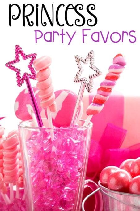 Princess Party Favors pin
