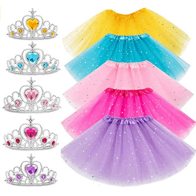 Princess tutus and crowns