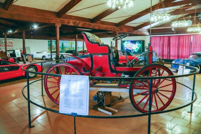 Classic car at the Sarasota Classic Car Museum