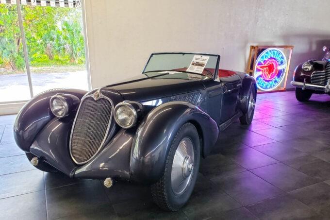 Classic car for sale at the Sarasota Classic Car Museum