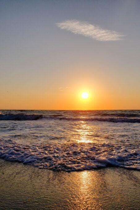 Sunset on Lido Key