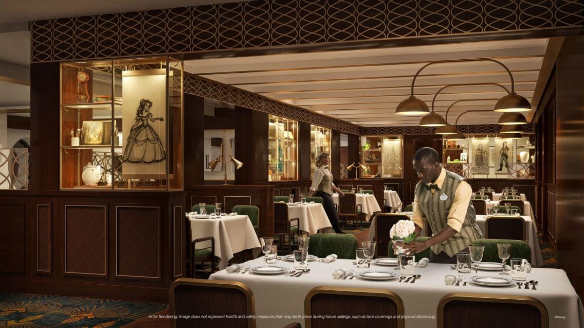 1923 Restaurant on the Disney Wish