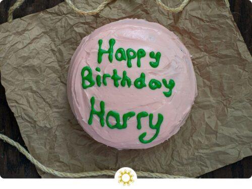 Harry's Birthday Cake
