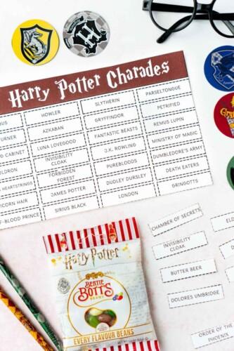 Harry potter charades