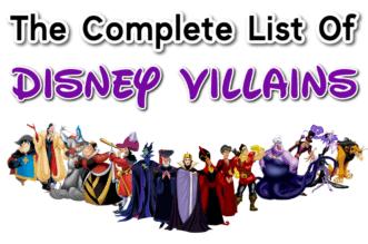 Picture of Disney villains