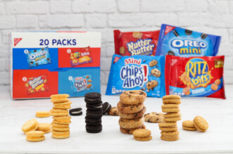 Cookies and crackers for back to school