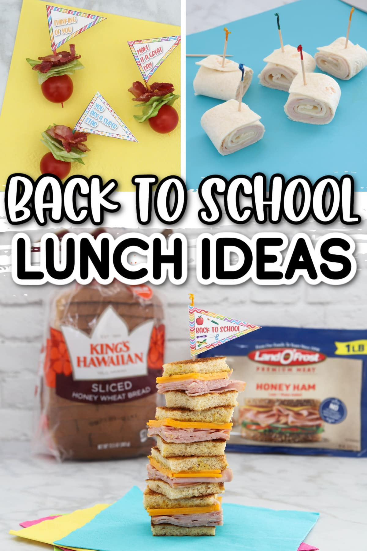 Easy school lunch ideas for kids