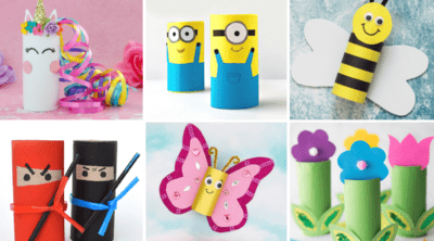 Toilet Paper Roll Crafts Feature 2