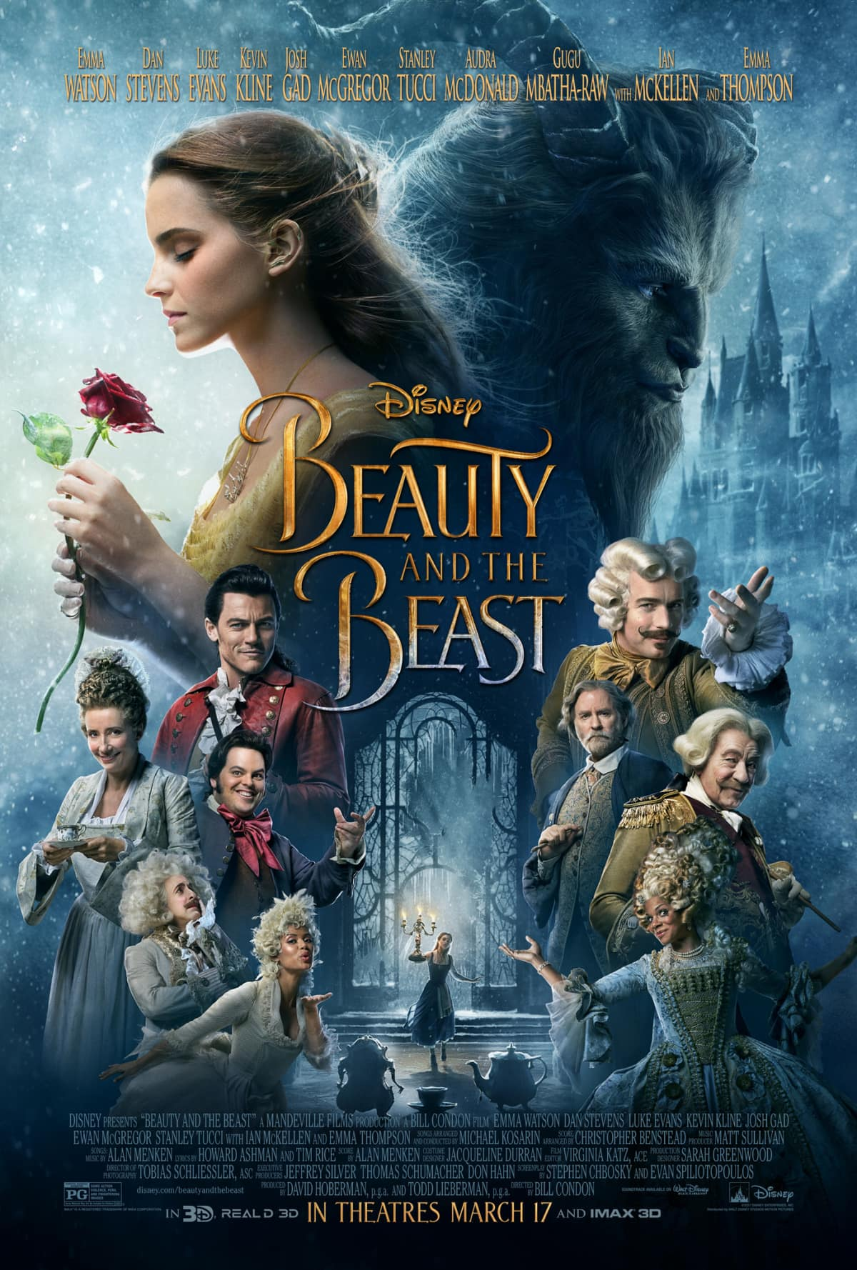 Beauty And The Beast Live Action Movie Poster