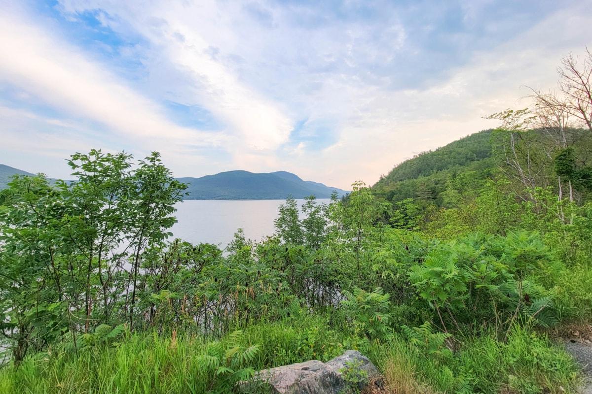 View of Lake George in the Adirondacks