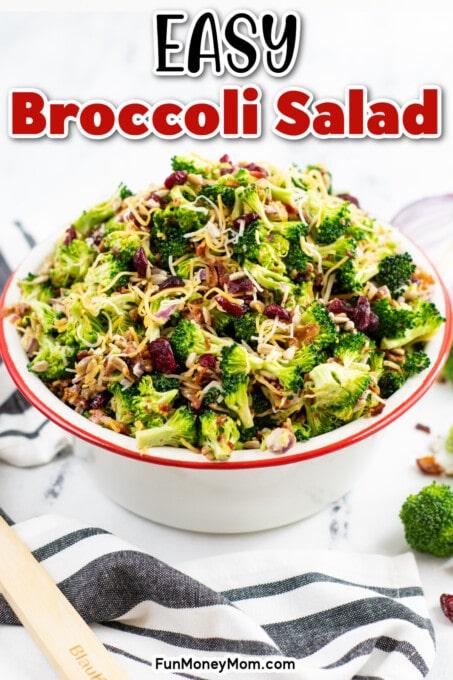 Broccoli Salad Pin 2