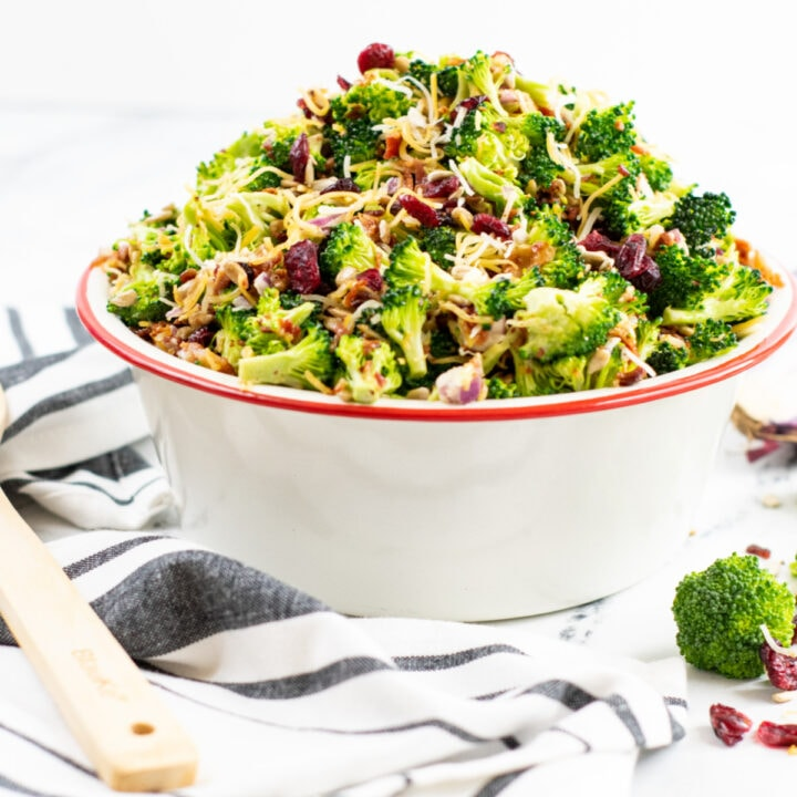 Broccoli Salad Recipe With Craisins