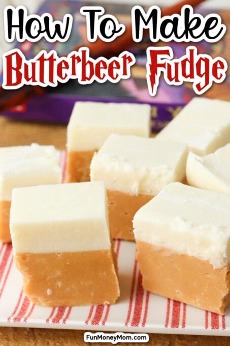 Butterbeer fudge recipe pin