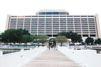 Disney's Contemporary Hotel feature