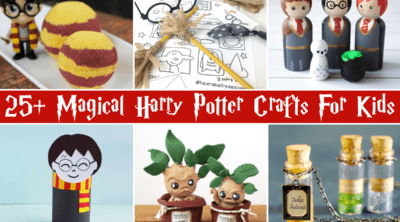 Harry Potter Crafts For Kids feature
