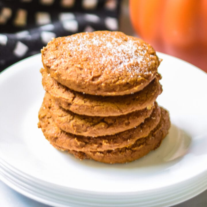 Pumpkin cookies recipe card