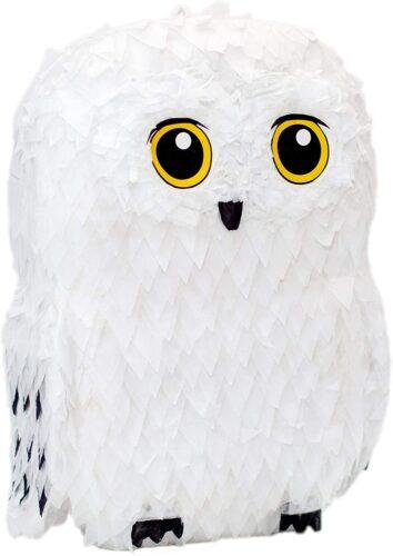Snowy white owl pinata