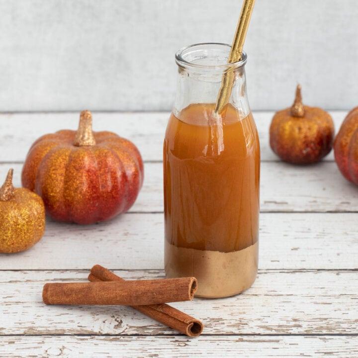Pumpkin Juice Recipe Card
