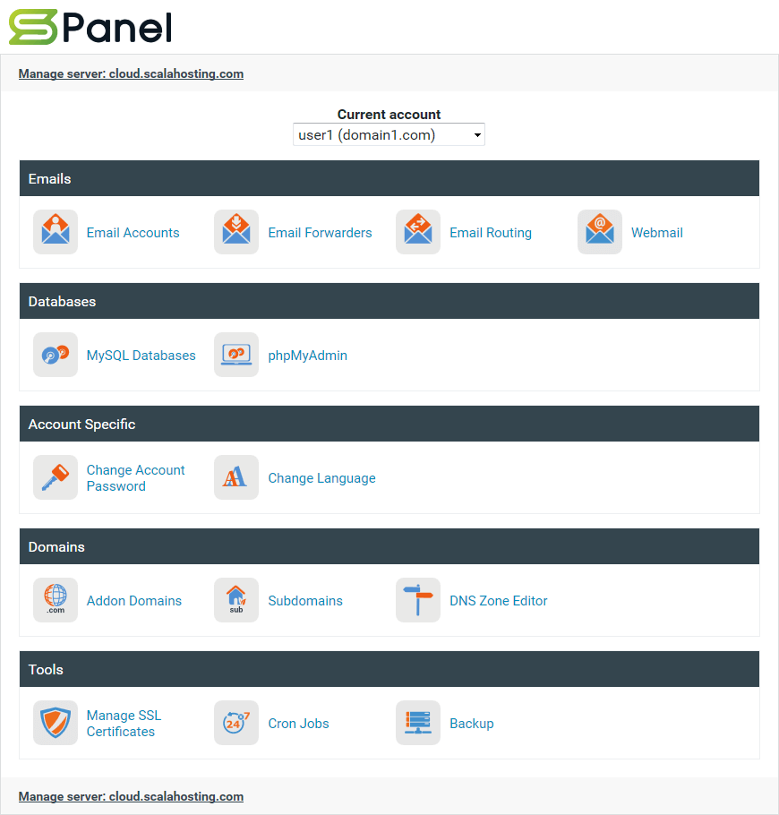 sPanel-manage-home