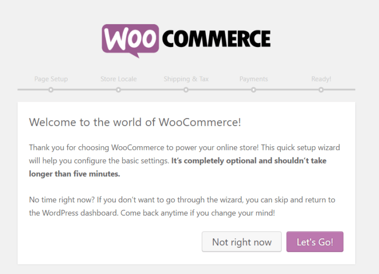 woocommerce-wizard