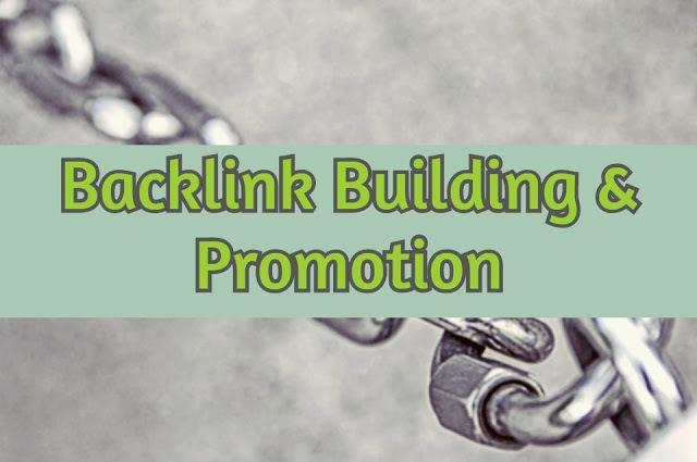 backlink building, promotion