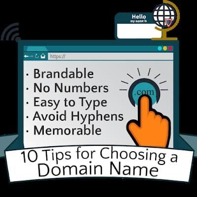 tips choosing domain name