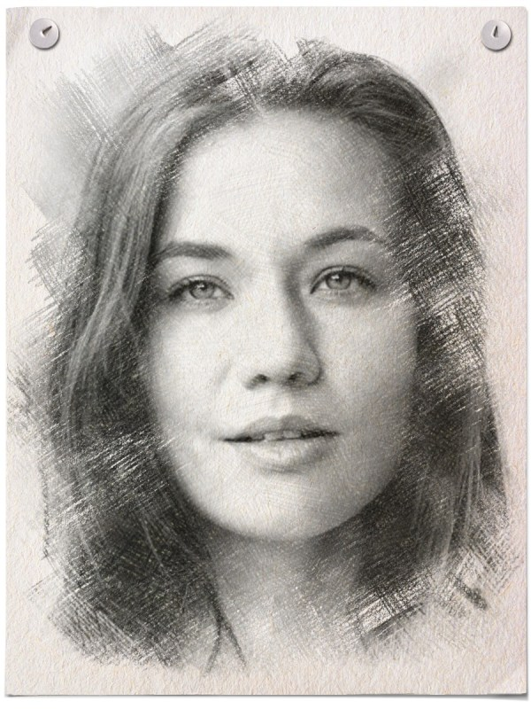 Turn your photo into a graphite pencil sketch online!