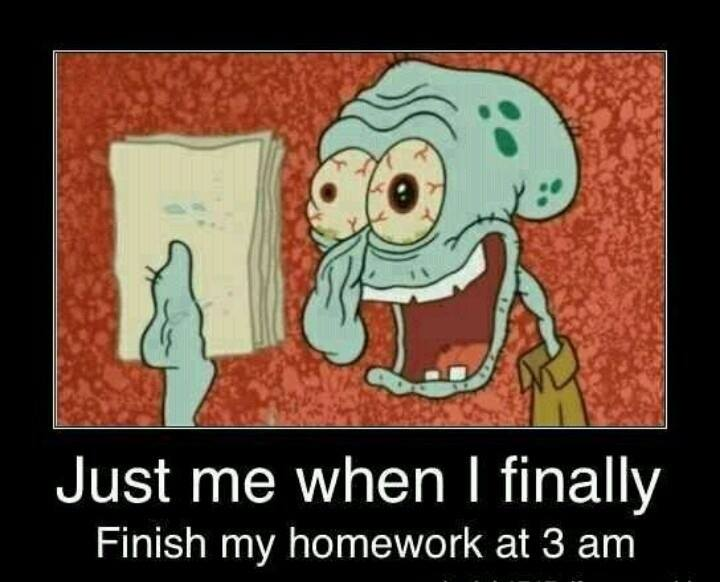 Finishing Homework Funny Pictures Quotes Memes Jokes