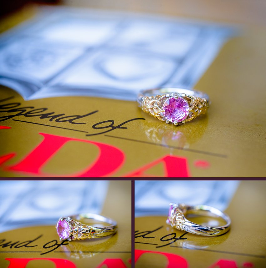 Geek Wedding Photographer The Legend Of Zelda Engagement Proposal