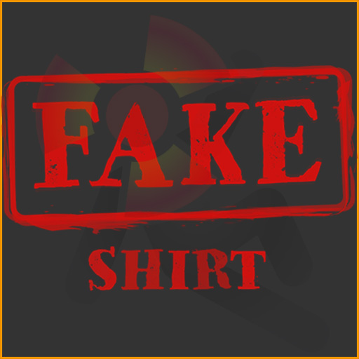 FAKE Shirt: Funny Fake News design.