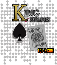 King of Spades Texas Holdem Poker Night Gambling design by Funny Graphic T-Shirts.