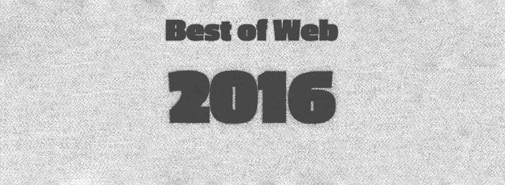 2016 Best of Web T-Shirts.