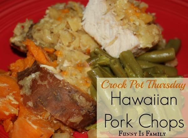 Crock Pot Hawaiian Pork Chops
