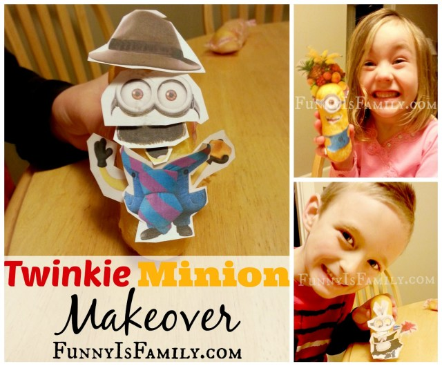Twinkie Minions from FunnyIsFamily.com