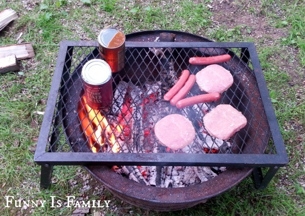 With careful planning, camping with kids is fun for all. Here is a comprehensive list of camping gear (including these grill grates), camping recipes, and camping tips for making your camping trip go smoothly!