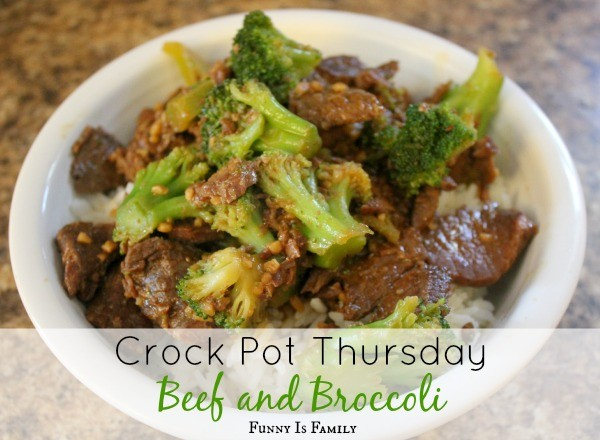 This Crockpot Beef and Broccoli is a quick, easy, and delicious slow cooker recipe!