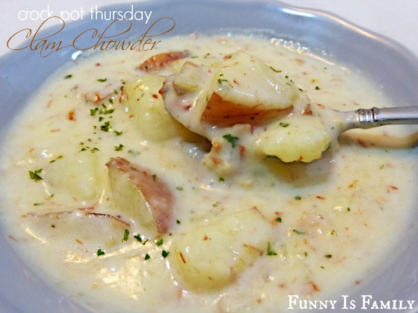 Crock Pot Clam Chowder